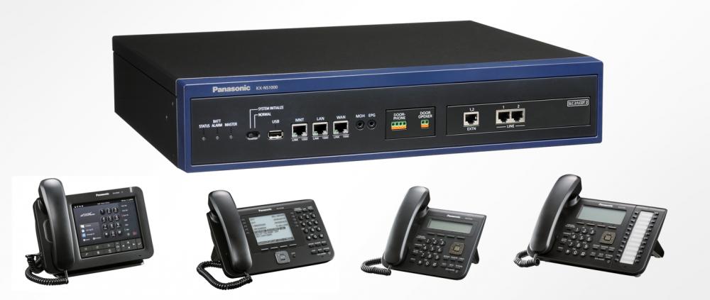 Pobočková telefonní ústředna, PBX, systémové telefony