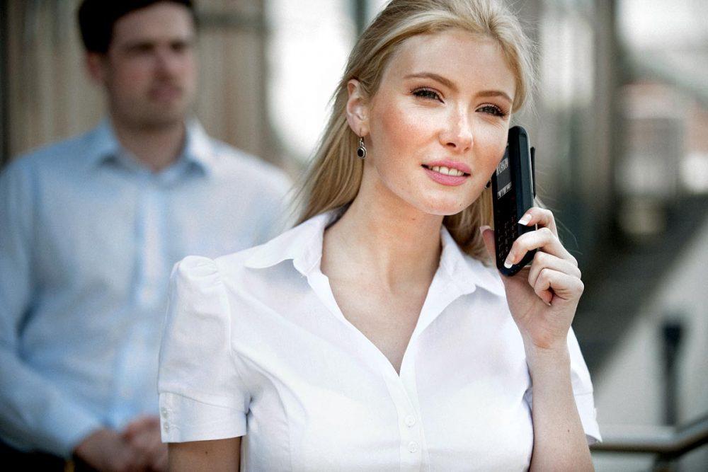 IP DECT bezdrátová sluchátka pro mobilní pracovníky