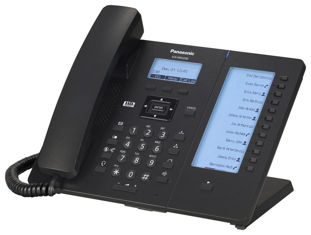 Telefon SIP Panasonic KX-HDV230