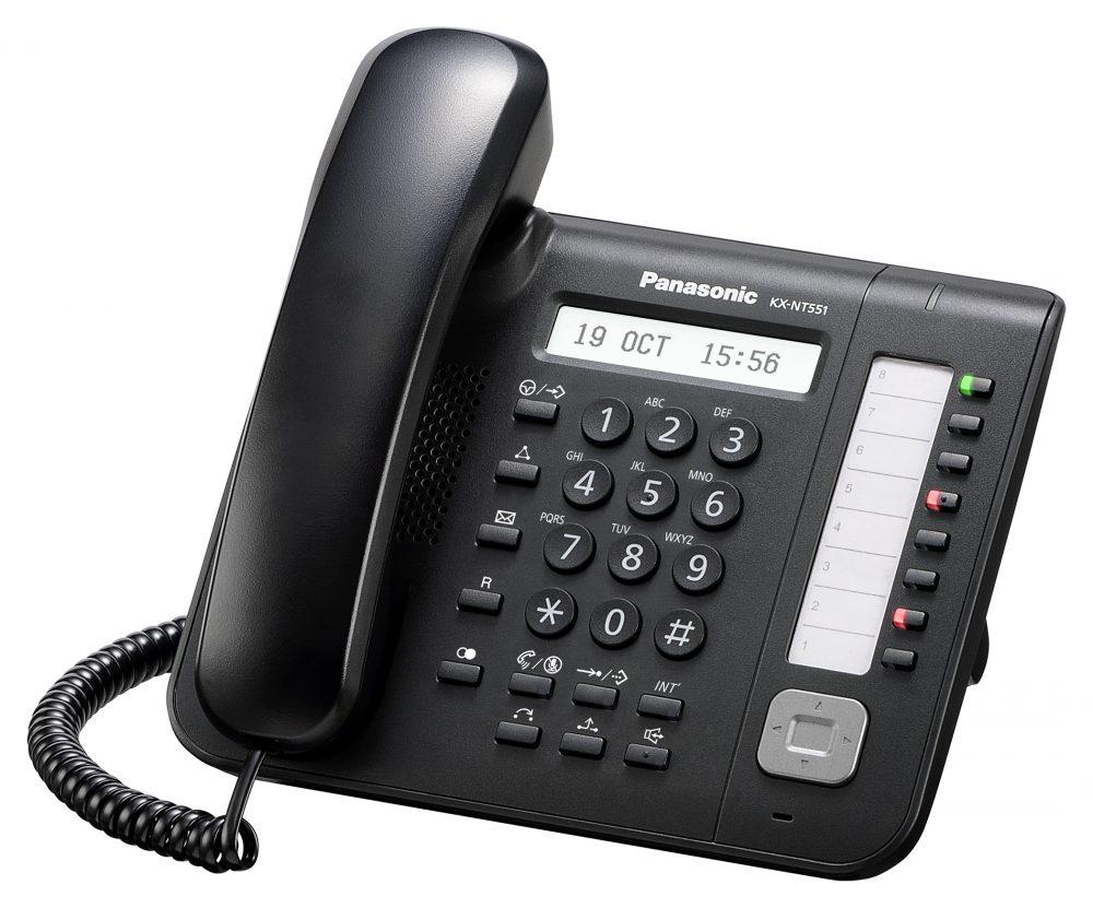 Systémový IP telefon Panasonic KX-NT551