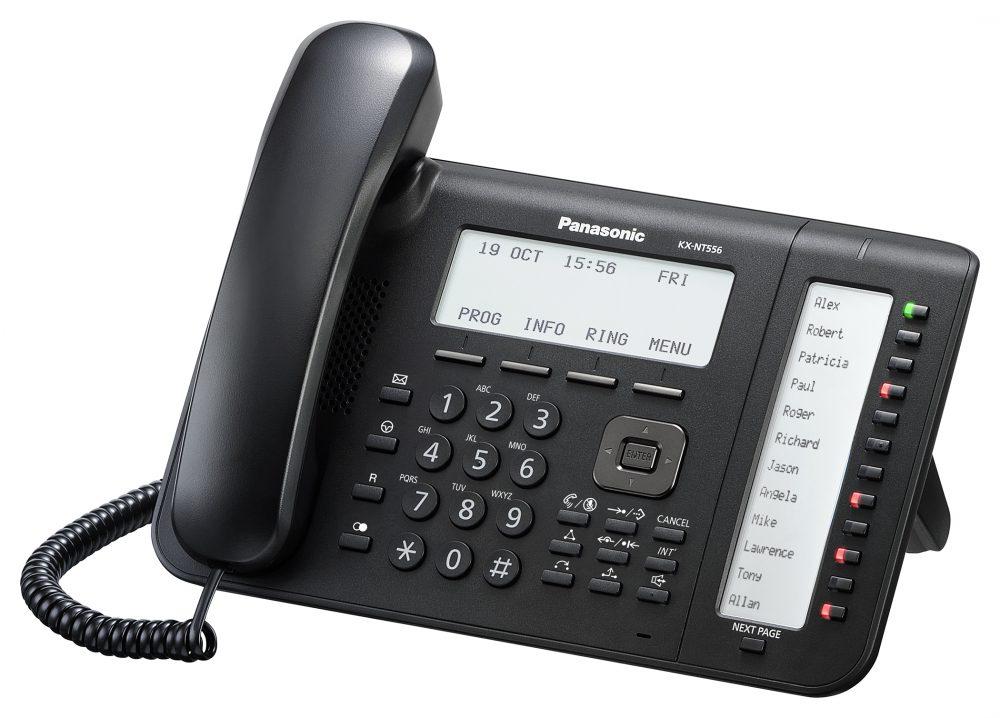 Systémový IP telefon Panasonic KX-NT556