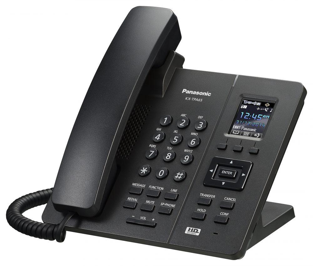 Bezdrátové stolní sluchátko Panasonic DECT KX-TPA65