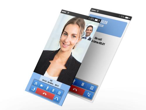 Aplikace pro integraci mobilních telefonů do firemního komunikačního systému