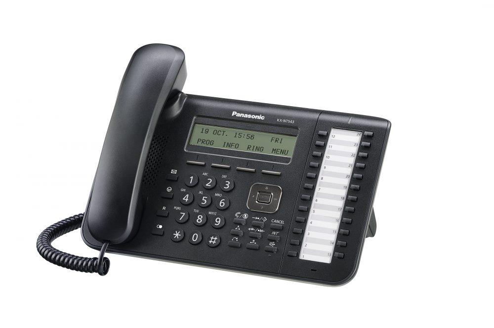 Systémový IP telefon Panasonic KX-NT543