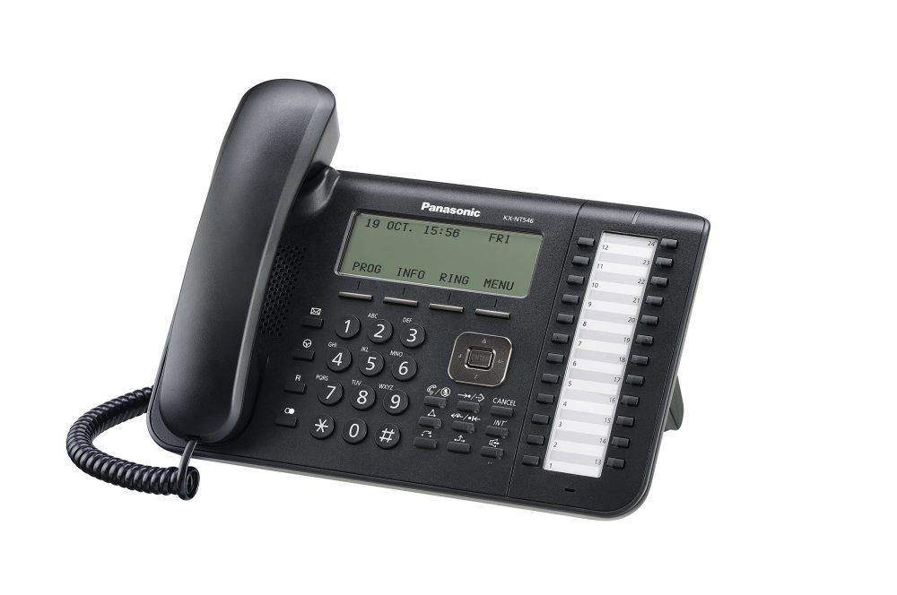 Systémový IP terminál Panasonic KX-NT546