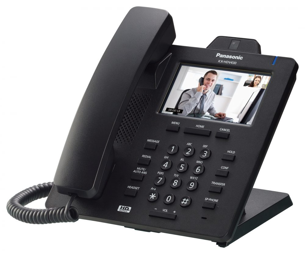 Videotelefon ke spolupráci - KX-HDV430