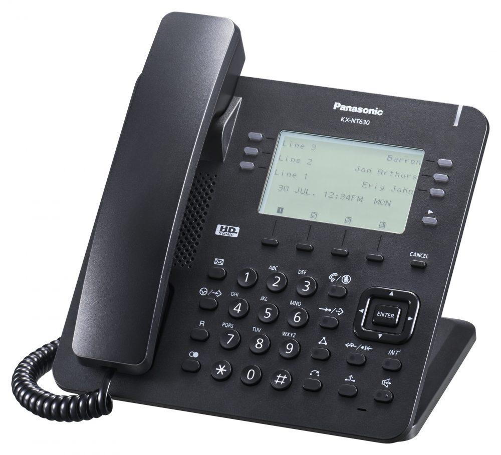 Systémový IP telefon Panasonic KX-NT630