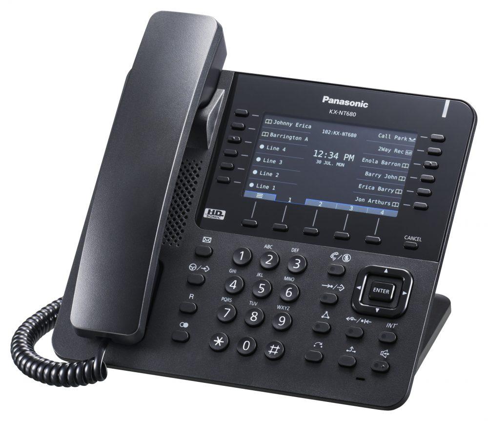 Systémový IP telefon Panasonic KX-NT680