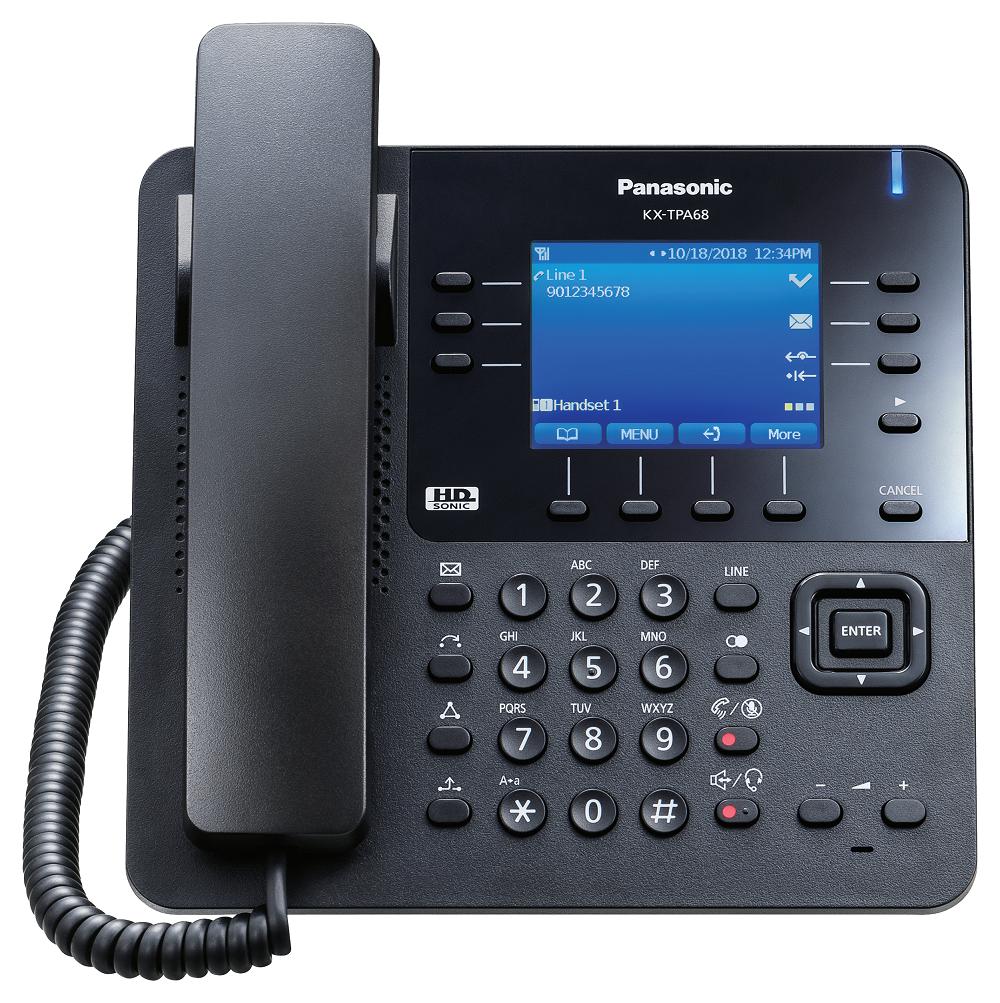 IP bezdrátový stolní telefon Panasonic KX-TPA68